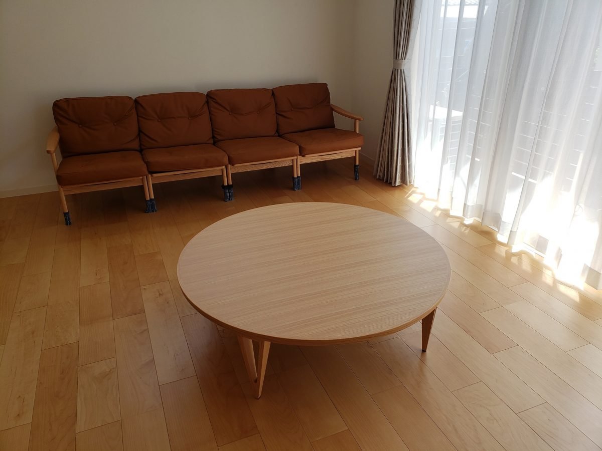 K様 / FK-1コタツリビングテーブル