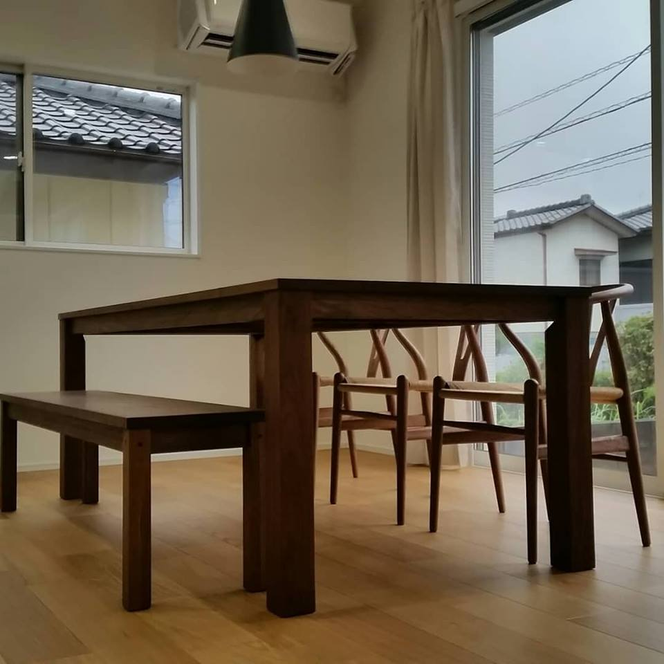 I様 / レンダイニングテーブル、Yチェア