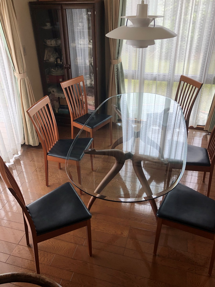 ポラダ レトロ ツー ダイニングテーブル、デヌオリビングテーブル、S5507カウチソファ、PH5
