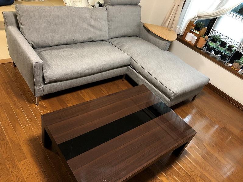 O様/アイラーセン ストリームラインカウチソファロング、K22サイドテーブル