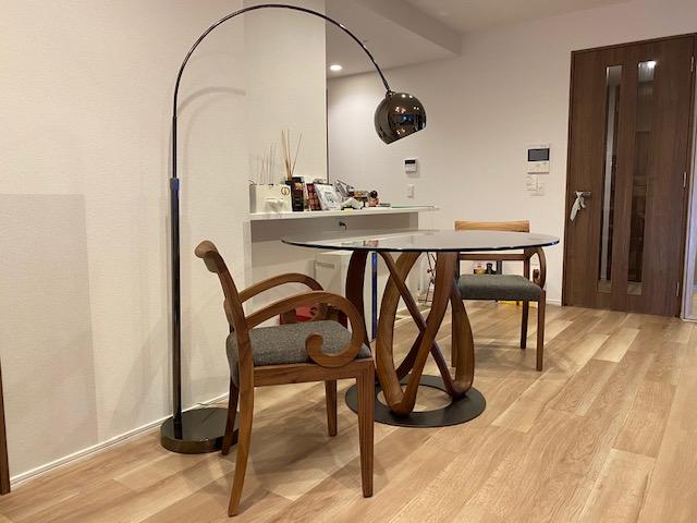 K様 / ポラダ インフィニティ ダイニングテーブル、ガルボチェア、ノット ドレスデン
