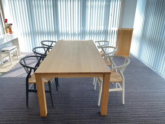 ☆様 / レンダイニングテーブル、CH24チェア